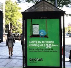 transit shelter ads new jersey